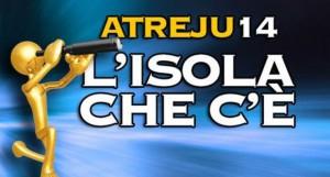 (1) Il logo del raduno nazionale dei giovani di Fratelli d'Italia...